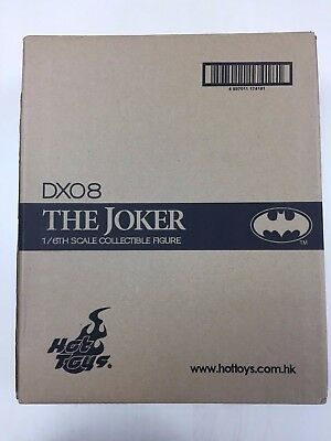 Hot Toys DX08 DX 08 1989 Batman Joker Jack Nicholson 12 inch Figure OPEN NEW for sale  Shipping to United States