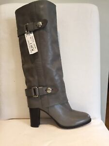 Grey Coach Boot - Size 9 $100