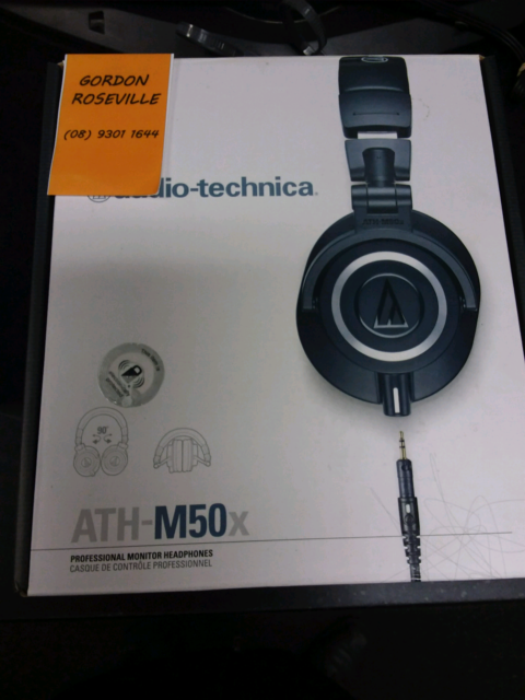 3b869e21b0c AUDIO-TECHNICA ATH-M50X MONITOR HEADPHONES ...