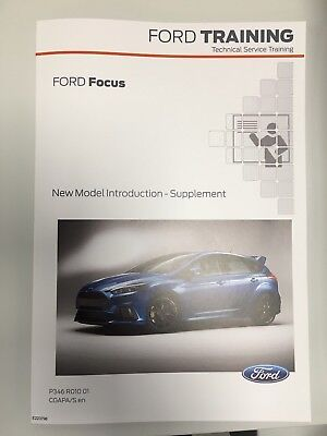 FORD FOCUS Supplement Manual Mk3 RS
