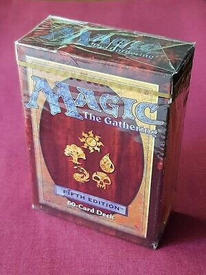 Magic The Gathering 5TH FIFTH EDITION TOURNAMENT STARTER DECK New Sealed Box MTG