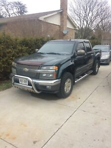 2004 CHEVY COLORADO GREEN 4x4 AS IS Z71