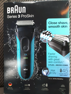 Braun Series 3 Proskin Wet or Dry Shaver