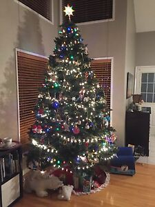 10' Prelit Xmas Tree for Sale