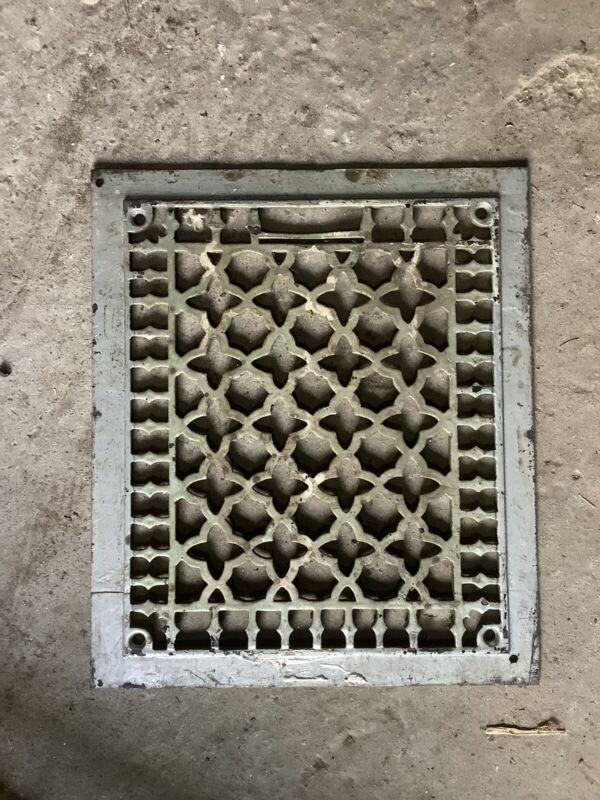 Antique Cast Iron Floor Grate