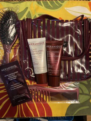 Keranique Volumizing Keratin Conditioner Shampoo 1 Oz Ea Travel Kit/Lot/Set 6 - $17.99