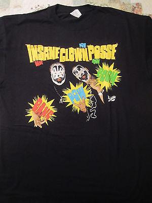HOT TOPIC  Insane Clown Posse  Green Bang Pow  Boom  T-Shirt   - Hot Clown
