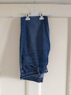 Ladies James Jeans Twiggy Ankle Louie Blue Style Size 32