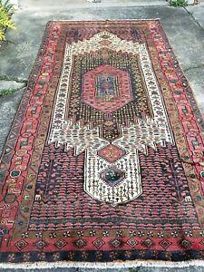 Persian handmade vintage soft wool Koliaee rug