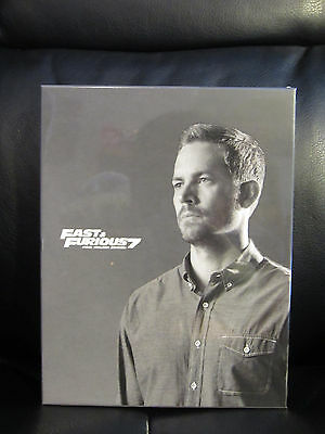 Fast   Furious 7 Blu Ray Steelbook Paul Walker Ed Full Slip  Filmarena  Fac New