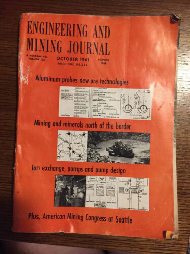 ENGINEERING AND MINING JOURNAL OCTOBER 1961