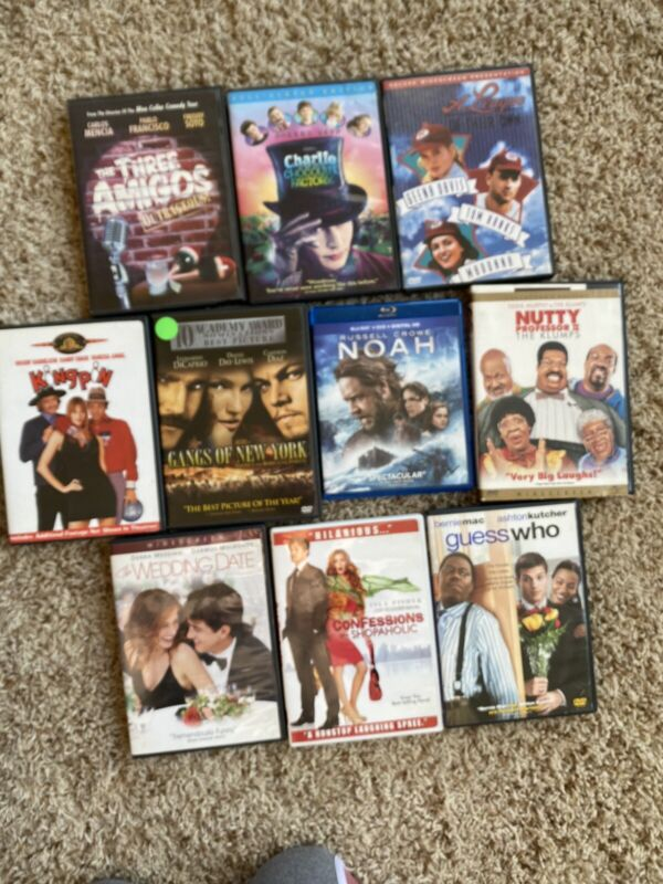 dvds lot preowned
