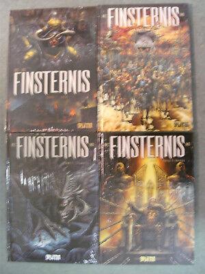 FINSTERNIS Band 1-4 / Komplette Serie / SPLITTER Comic Album / NEUWARE