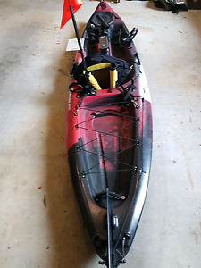 Fishing Kayak with accessories Warragul Baw Baw Area Preview