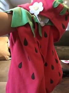 Strawberry Halloween costume 2T-3T