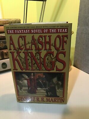 First Book Club Edition Game Of Thrones A Clash Of Kings George R. R. Martin