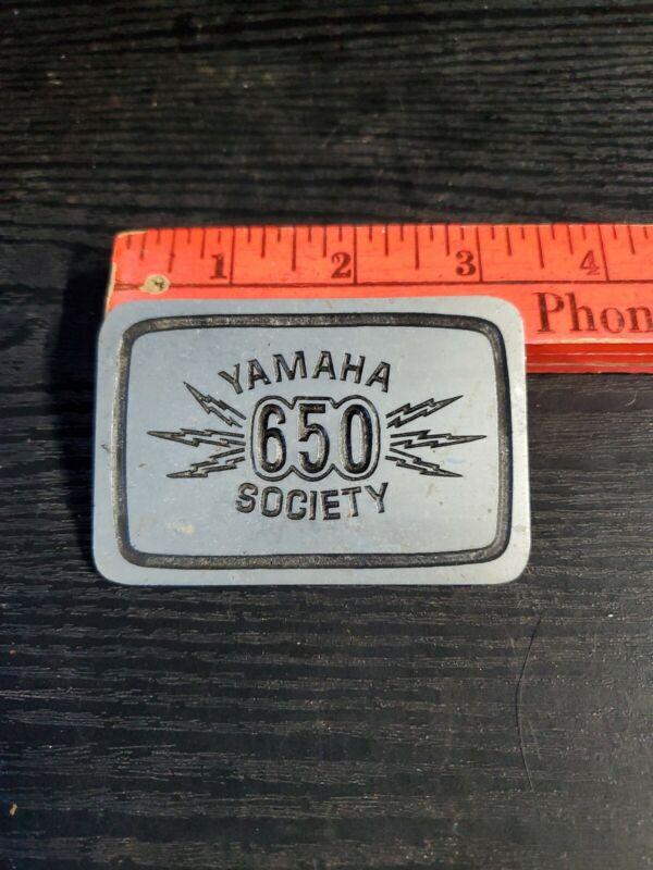 Vintage YAMAHA 650 SOCIETY / Metal Tag