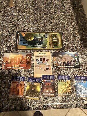 7 Wonders: Duel - Pantheon Expansion Replacement part- Rules,Wonder,Temple Cards