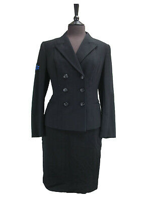 Vintage Navy Uniform  - Womens Jacket and Skirt - UK size 6/8