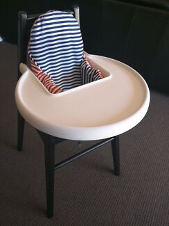 Ikea Blames Highchair and supporting cushion Rozelle Leichhardt Area Preview