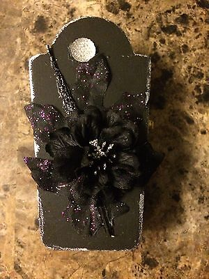 Miniature Black Gothic Coffin 1 for - Coffins For Halloween