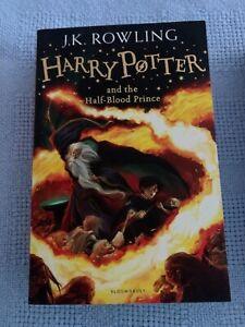 Harry Potter book - 6 - the the half blood Prince.