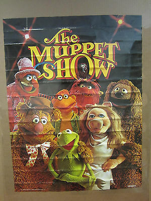 Vintage 1976 The Muppet Show poster muppet characters 4525