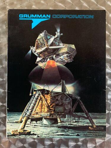 Vintage 1969 GRUMMAN AEROSPACE Employee Brochure Report Rare