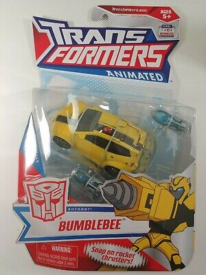 Transformers Animated Bumblebee – NEW – MOSC