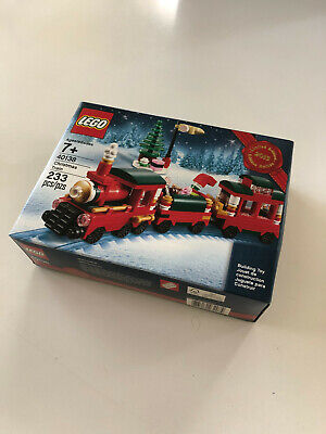 LEGO 40138 Seasonal Holiday Christmas Train 2015 Set - New Sealed