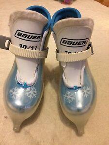 Bauer toddler size 10 11 skate.