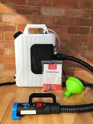 10L Electric ULV Fogger Backpack Sprayer Disinfection Spray Fogging Machine