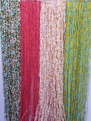 "Waist Beads Smaller Tie On African Waist Beads Belly Chain 28""-50"""