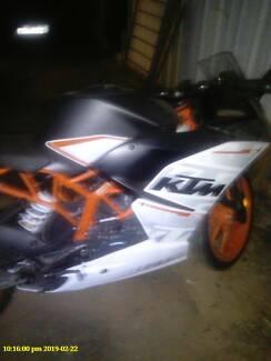 Road bike KTM orange /white Tamworth Tamworth City Preview