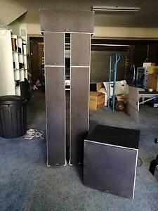 Polk 5.1 speaker pack incl. Subwoofer. Bateman Melville Area Preview