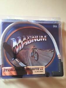 Harley Davidson Magnum Sterling Chromite II Ignition leads. St Helena Banyule Area Preview