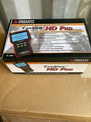 Triplett 8065 Camview Hd Pro Ntscpal Ahd Cvi Tvi Camera Tester