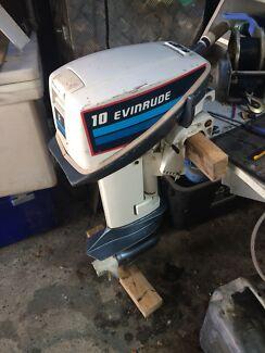 Evinrude 10HP outboard