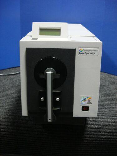 X-RITE GRETAG MACBETH COLOR EYE 7000A SPECTROPHOTOMETER CE7000A
