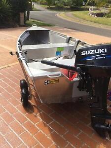 Quintrex Wasp 310 Suzuki DT15hp Eleebana Lake Macquarie Area Preview
