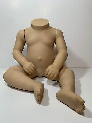 Fusion Specialties Baby 6 Months Boy Girl Torso Mannequin Display Form Skin Tone