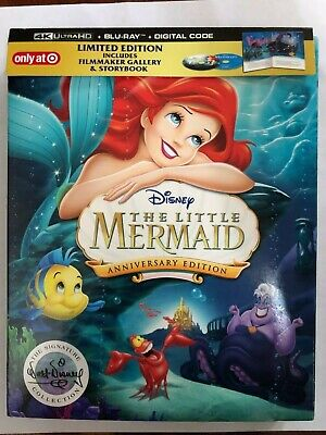 Mermaids Only (The Little Mermaid (4K Ultra HD Disc ONLY) w/ TARGET EXCLUSIVE CASE! SEE)