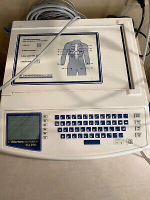Mortara Instrument Eli 250 Series 10-lead Electrocardiograph Machine Eli250