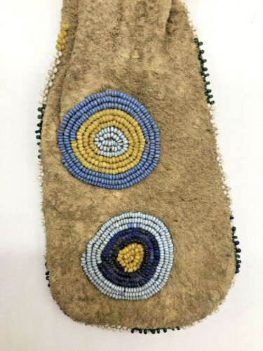 Antique Native American Beaded Bag