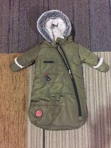0-3 month old snowsuit