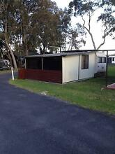 On site caravan at Sussex Inlet Riverside Caravan Park Sussex Inlet Shoalhaven Area Preview