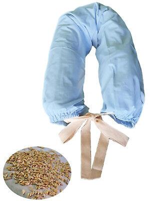 MORBIDOSO Cuscino per Allattamento e Gravidanza 140 cm. con Pula di Farro+Fodera