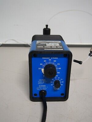 Pulsafeeder Pulsatron E Series Electronic Metering Pump