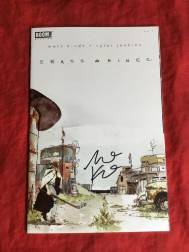 GRASS KINGS #1~SOLD OUT 1st PRINT~SIGNED BY WRITER MATT KINDT~BOOM STUDIOS~