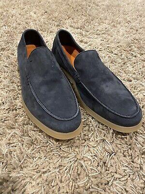 Andrea Ventura Mens Loafer Shoes (like Loro Piana Summer Walk) Size 44 EU 11 US